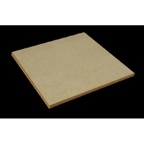 PLAQUE réfractaire 300 x 300 x 10 mm Temp. Maxi. 1280 °C