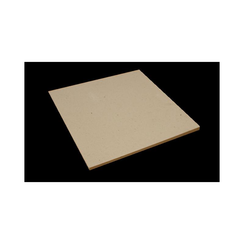 PLAQUE réfractaire 415 x 415 x 10 mm Temp. Maxi. 1280 °C