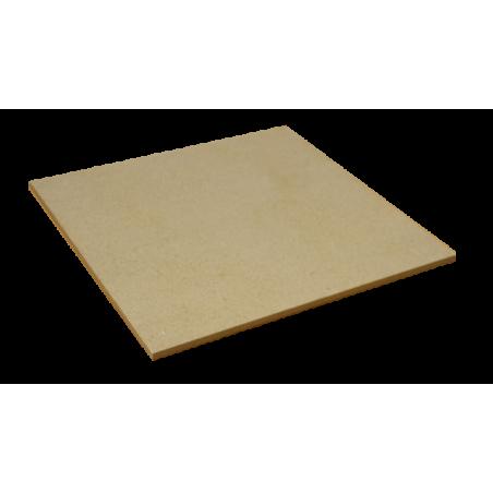 PLAQUE réfractaire 360 x 360 x 13 mm Temp. Maxi. 1280 °C