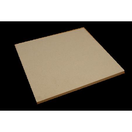 PLAQUE réfractaire 390 x 390 x 15 mm Temp. Maxi. 1350 °C