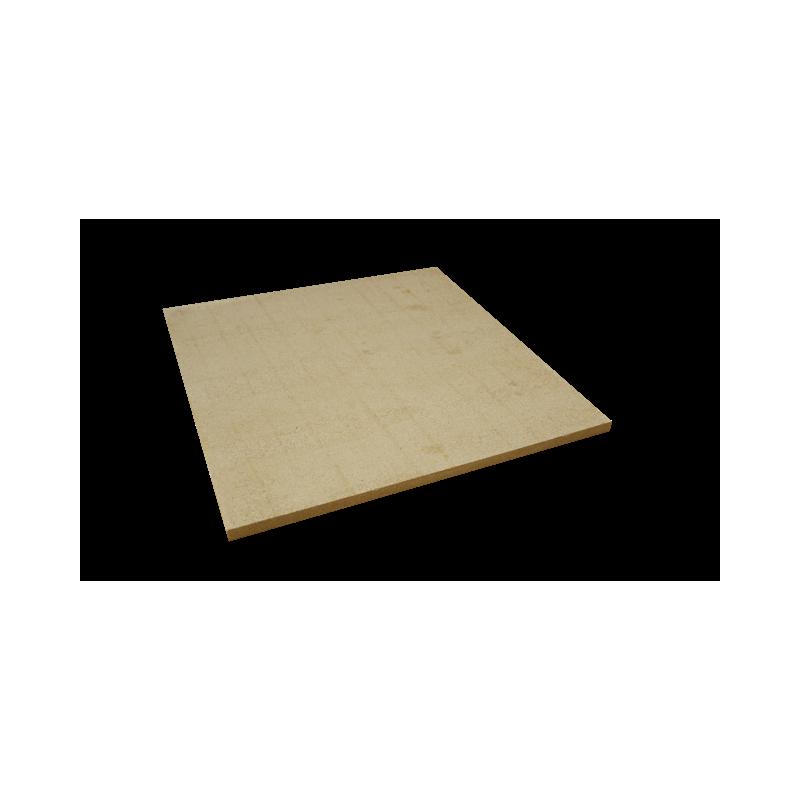 PLAQUE réfractaire 600 x 600 x 20 mm Temp. Maxi. 1350 °C