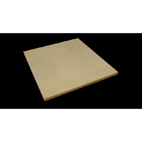 PLAQUE réfractaire 550 x 500 x 20 mm Temp. Maxi. 1350 °C