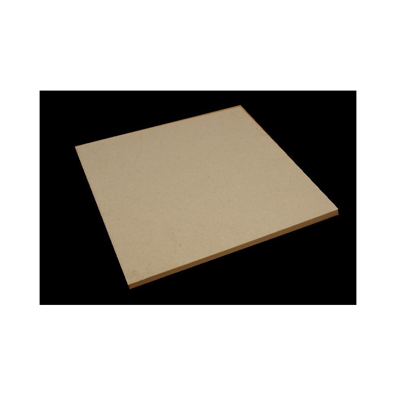 PLAQUE réfractaire 400 x 400 x 15 mm Temp Maxi 1350 °C
