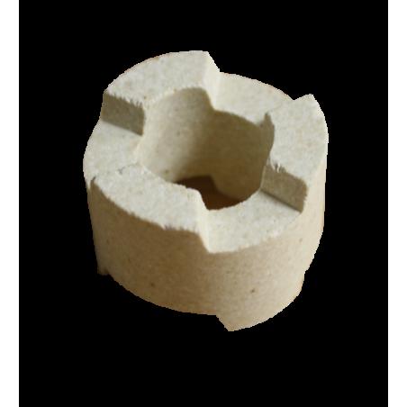 SUPPORTS ENCASTRABLES h. 25  /32 mm Temp. Maxi 1280 °C