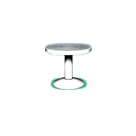 TOURNETTE DE TABLE METAL diam 220 x H 175 mm