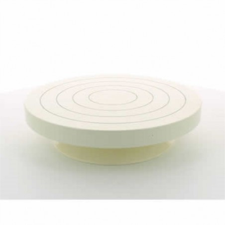 TOURNETTE DE TABLE METAL diam.220mm haut.50mm