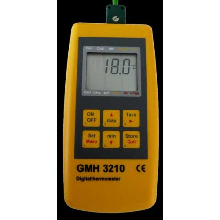 LECTEUR DIGITAL GMH 3210 1700°C