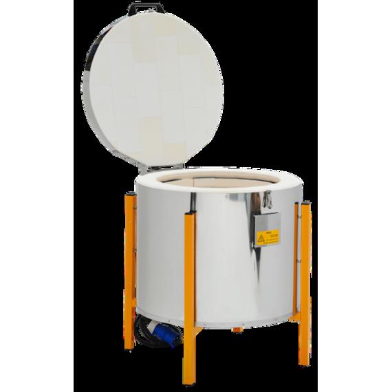 FOUR VERTICAL PYROTECH Temp. Maxi 1320 °C 163 HD avec régul. MI5+ - 1
