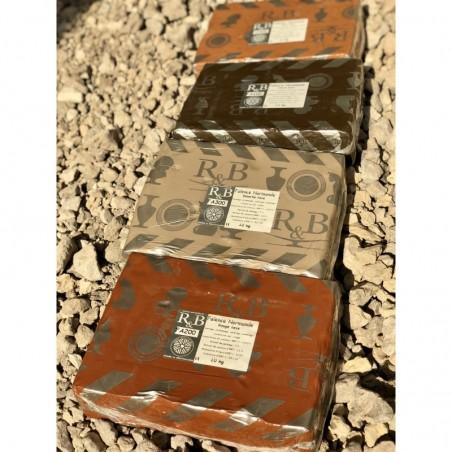 FAIENCE ROUGE TERRA LISSE 960-1020°C Conditionné par 10 kg - 1 - Terre Faïences