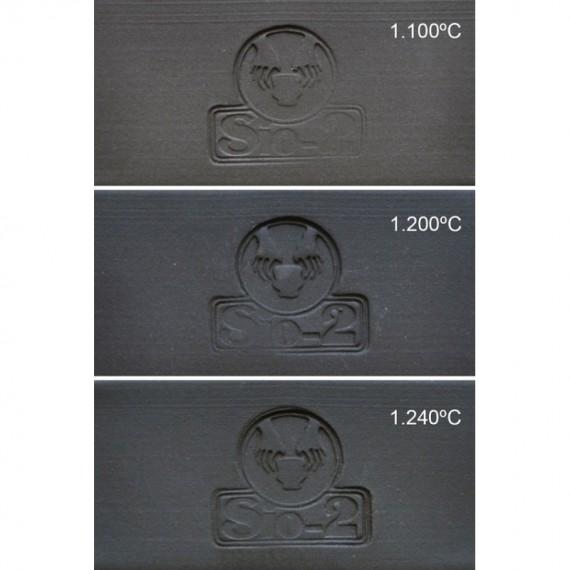 GRES NOIR PRNF 0-0.5 mm 960-1280°C Condit.12.5 kg - 1 - Terre Grès