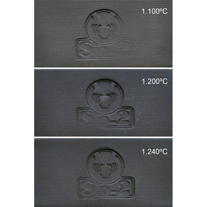 GRES NOIR PRNM 0-1.5 mm 960-1280°C Condit.12.5 kg - 1 - Terre Grès