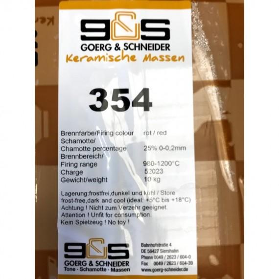 CREATION Grès rouge lisse 354 Condit.10 kg - 2 - Terre Grès