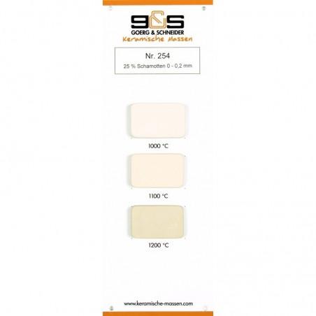 CREATION Grès Blanc Lisse 254 Conditionné par 10 kg - 2 - Terre Grès