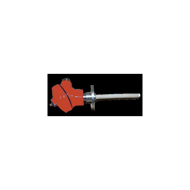 Sonde Pt-Rh 1300 °C 125mm