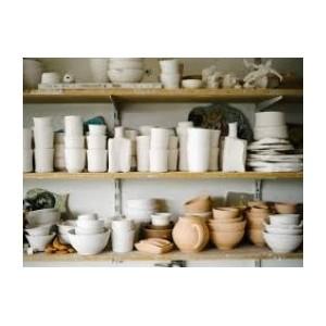 Matériel céramique : boudineuse, croûteuse, cabines d'émaillage